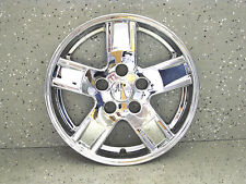 """JEEP GRAND CHEROKEE 05-07 17"""" CHROME SKINS LINERS HUBCAPS (4 PIECES) 7905-17"""