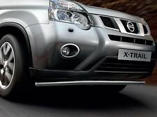 Nissan XTRAIL 2011-2014 GENUINE Spoiler Bar, City Bar, Front Bar Stainless Steel