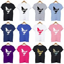 PERSONALISED CHICKEN HEN DO / NIGHT T SHIRTS, ...'s HENS PARTY  T Shirt Funny