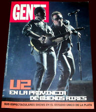 U2 Bono Live in Argentina - Gente Special magazine