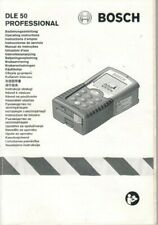 BOSCH - DLE 50 Professional - Bedienungsanleitung Instructions - To-1001