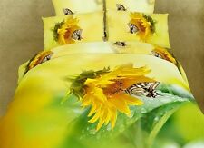 Dolce Mela Queen Bed Modern Bedding Floral Duvet Cover Set DM428Q Duvet Cover