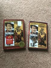 Hondo John Wayne & Once Upon A Time In The West Double Feature Dvd w/ Slipcase