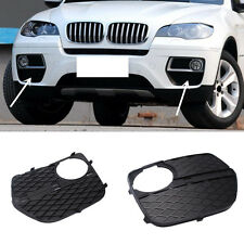 ABS For BMW X6 E71 2012-2014 Front fog lamps grille Replacement 2pcs