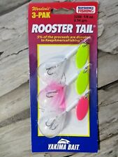 WORDENS 3 PACK - 1/8 OUNCE ROOSTER TAIL - YAKIMA BAIT - IN-LINE SPINNER BAITS