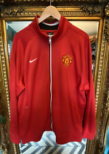 Mens Nike Manchester United Red Jacket Size XXL