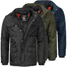 Geographical Norway Warm Designer Men's Winter Quilted Jacket Winter New