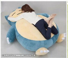 "Giant Huge 59"" Pokemon Go Snorlax Stuffed Plush Toys Doll Pillow Bed kids Gift"