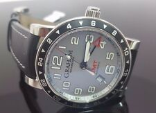 GRAHAM SILVERSTONE  AUTOMATIC GMT WATCH, AN-2TZAS MINT CONDITION