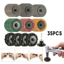 2 Inch Sanding Grinding Disc Quick Change Pads For Air Grinder Rotary Tools Us