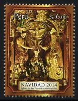 Peru 2014 Weihnachten Christmas Postfrisch MNH