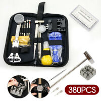 AU Ship 380PCS Watchmaker Watch Link Pin Remover Case Opener Repair Tool Kit Set