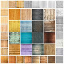 Retro Plank Wall Floor Vinyl Photography Background Studio Photo Props Backdrop