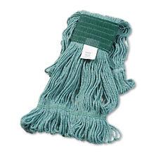 Boardwalk Super Loop Wet Mop Head Cotton/Synthetic Medium Size Green 502GNEA