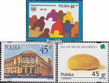 Polen 3545,3546,3547 (compleet.Kwestie.) gestempeld 1995 VN, Handelsbank, Bauern