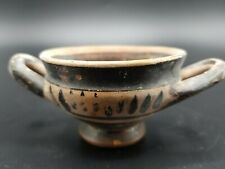 a FINE SMALL ANCIENT GREEK KYLIX INTACT AND GENUINE PROFESSIONALLY APPRAISED