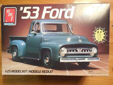 Amt Ertl 1953 Ford Model 1:25 Model Kit #6606 3 in 1 model - All Here See Pix
