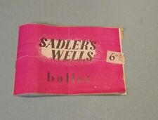 1945 Sadler's Wells London Ballet Company Program Hamlet Dante Sonata Sylphides