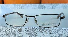 JONES NEW YORK Eyeglasses J319 Brown Optical Frame Men Spectacles NEW Authentic