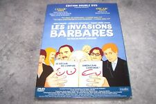 """2 DVD - 2 FILMS - [ """"LES INVASIONS BARBARES"""" ET """"LE DECLIN DE L'EMPIRE US ..."""" ]"""