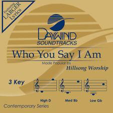 Hillsong Worship - Who You Say I Am -  Accompaniment / Performance Track - New