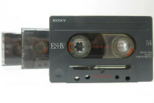 3x Sony ES IV Metal 54 - Cassette Tapes Vintage Prerecorded Sold As Blank Japan
