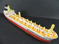 Schiff Modell  Tanker Eberhart Essberger Hamburg,18 cm Polyresin,Miniatur item