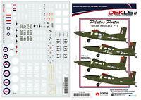 1/48 Pilatus Porter Australian Army 'Green Machines Pt1' DEK L's II