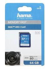 Hama SDXC UHS-I 64GB Card