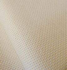 Ivory / cream 18 Count Zweigart Aida cross stitch fabric - size options