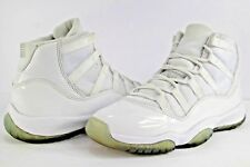 Nike Air Jordan Retro XI 11 Silver Anniversary White Metallic Size 4.5