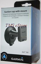 Garmin Cradle/Bracket w/ Suction Cup Mount for Dezl 770LMT 770LMTHD Trucker GPS