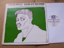 JUNIOR WELLS,BLUES HIT BIG TOWN lp m-/vg+ WOC+WOL delmark rec. DL640 USA 1977
