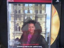 Jessye Norman/At Notre-Dame Christmas Concert Lawrence Foster ovp neu/Laserdisc