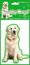 Golden Retriever Cream Fragrant Air Freshener - Perfect Gift