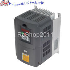Universal 5.5KW 220V Variable Frequency Drive Inverter VFD 7.6HP 25A UK STOCK