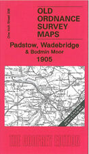 OLD ORDNANCE SURVEY MAP PADSTOW WADEBRIDGE CAMELFORD & BODMIN MOOR 1905