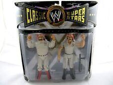 WWE Colonel Mustafa (Iron Sheik) Sgt. Slaughter Classic Limited Ed. Jakks 2-Pack