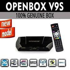 Openbox V9S Digital Freesat Pvr Full HD TV Receptor De Satélite Caja original del Reino Unido.