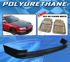 FOR HONDA PRELUDE 92-96  T-S FRONT BUMPER LIP + DICKIES FLOOR MAT TAN