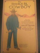RRL Ralph Lauren Early 1900 Inspired Limited Edition Japanese Denim Cowboy Doll