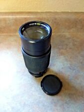 Star-D MC Auto Zoom 80-205mm F 1:3.8 Lens For Pentax Mount