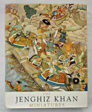 The Jenghiz Khan Miniatures from the court of Akbar by J Marek & H Knizkova 1963