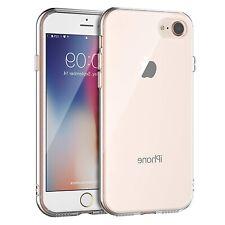 iPhone SE 2020 Hülle iPhone 7 iPhone 8 Schutzhülle Silikon Slim Case Transparent