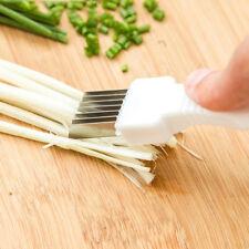 Onion Vegetable Cutter slicer multi chopper Sharper Scallion Kitchen knife Shred