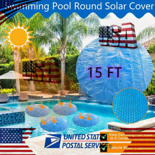15ft Pool Covers Solar Protector for Home Above Ground Protection Swimming Pools