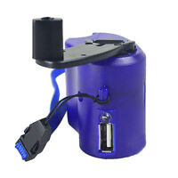 Hand Power Dynamo Hand Crank USB Emergency Charger Gadget for Mobile Phone YJ