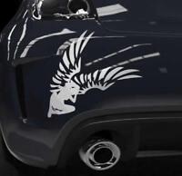 Auto Aufkleber Engel Sticker Schutzengel Flügel Heckscheibenaufkleber OEM JDM
