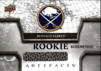 2018-19 Upper Deck Artifacts Hockey Rookie Redemption Singles (Pick Your Cards)