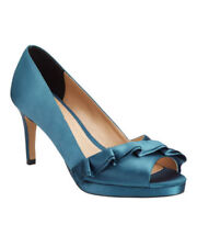 Phase Eight Satin Peep Toe Heels for Women